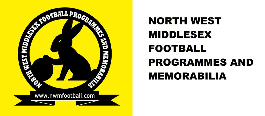 North West Middlesex Football Programmes & Memorabilia